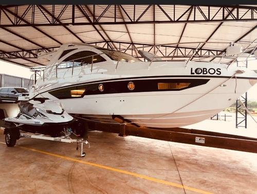 lancha cimitarra 360, ano 2017 - 02 volvo - marina atlântica