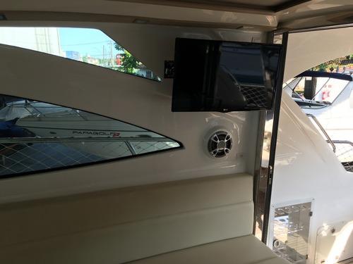 lancha cimitarra 400 sd - 125hrs/ diesel - n focker ventura