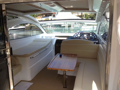 lancha cimitarra 400 sundeck ano 2016+2x volvo 300 hp diesel