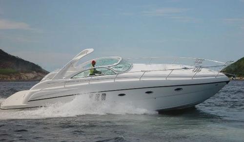 lancha cimitarra 410 t, 2010. 02 x d4  - marina atlântica