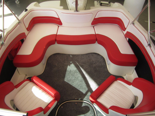 lancha classer 170 / evinrude e-tec 115 hp - 2018 !