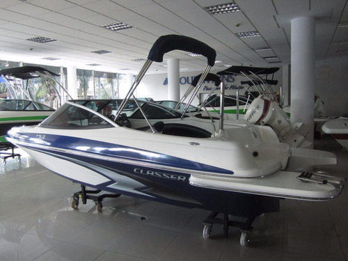 lancha classer 170 / evinrude e-tec 115 hp - 2019 !