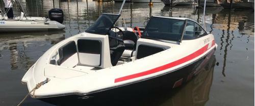 lancha classer 206 con motor 150hp