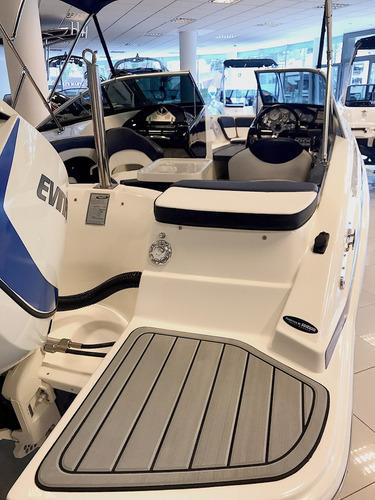 lancha classer 206 / evinrude e - tec 150 hp - 2018!