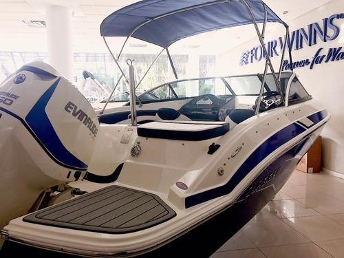 lancha classer 206 / evinrude e - tec 150 hp - 2019!