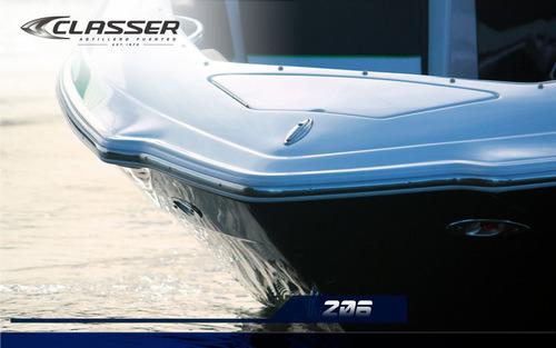 lancha classer 206 ltd - astillero fuentes