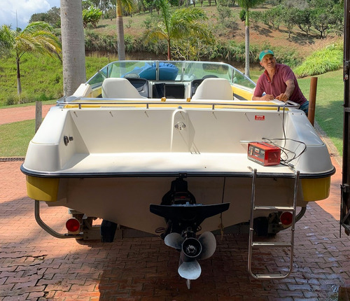 lancha cobia 23 pies / motor: mercruiser 350 mag 5.7 litros
