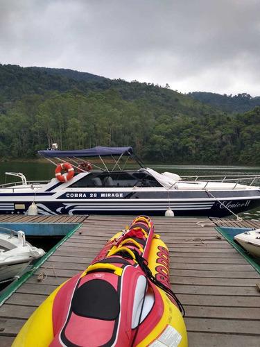 lancha cobra mirage 28 pés diesel