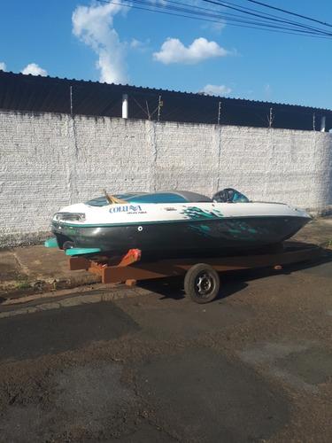 lancha colunna jet boat 175 hp