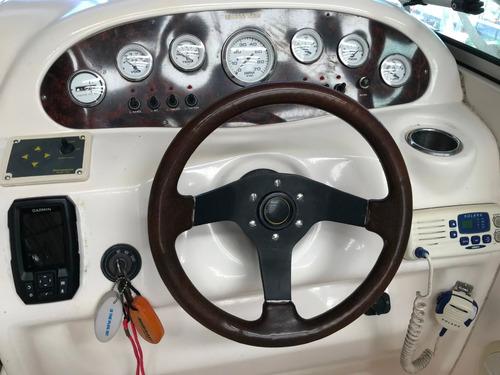 lancha cuddy canestrari 215 con mercruiser 220 hp ao 2005