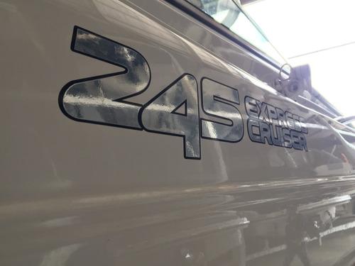 lancha cuddy canestrari 245 con mercruiser 260 hp b3 2014