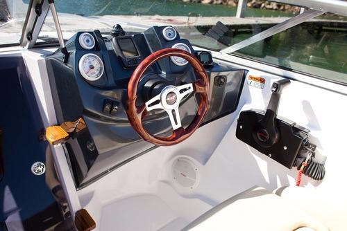 lancha cuddy fs 215 etec 150 hp nueva importante descuento !