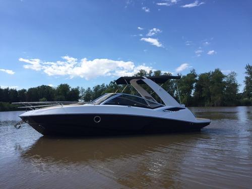 lancha cuddy fs 265 con volvo 280 hp duoprop 2019 nueva