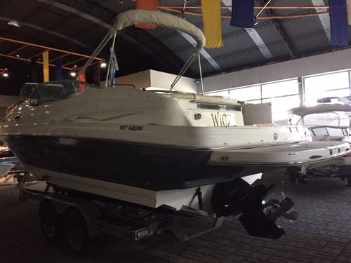 lancha cuddy genesis 2680 con mercruiser 320 hp bravo3