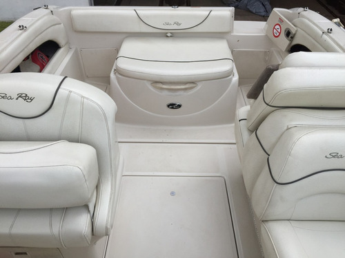 lancha cuddy importada sea ray 215 volvo 170 hp diesel 2004