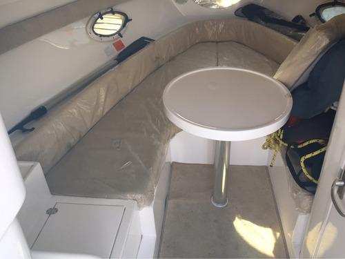 lancha cuddy klase a 25 con volvo 270 hp 2008