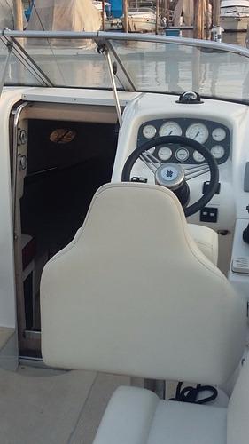 lancha cuddy klase a 25 volvo 5.7 v8 320hp 2012