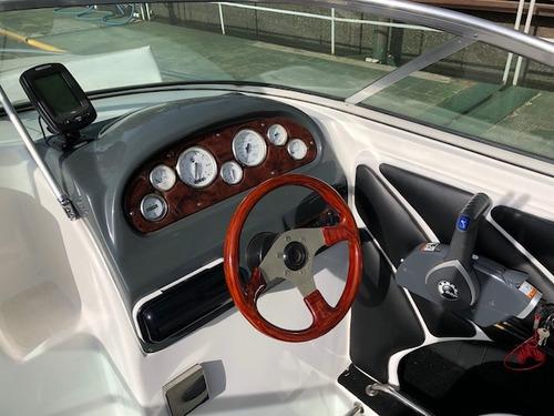 lancha cuddy quicksilver 2002 evinrude 135 hp 203 hs de uso