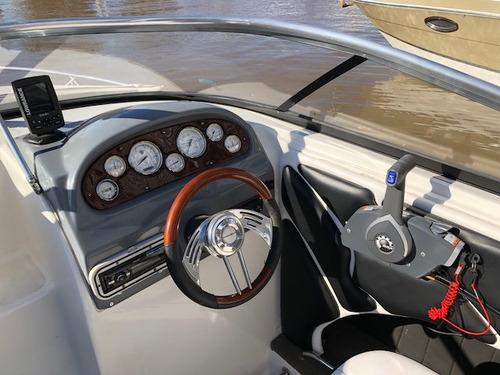 lancha cuddy quicksilver 2002 evinrude 135 hp v6 con 24 hs