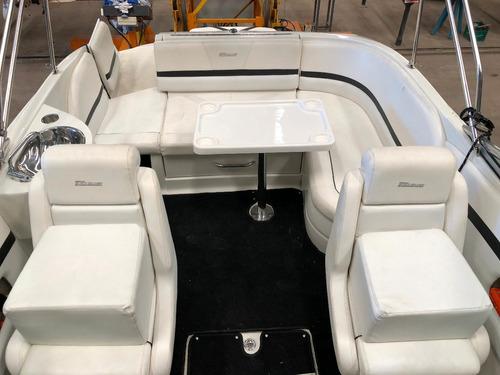 lancha cuddy quicksilver 2400 con mercruiser 260 hp pata b3