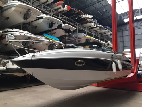 lancha cuddy quicksilver 2400 con volvo 270 hp dp 2014 negra
