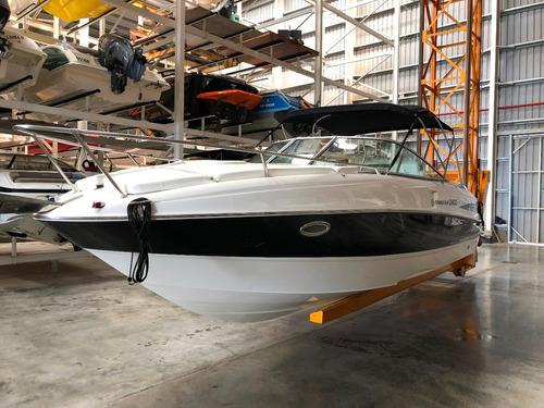 lancha cuddy quicksilver 2400 con volvo 270 hp pata duoprop