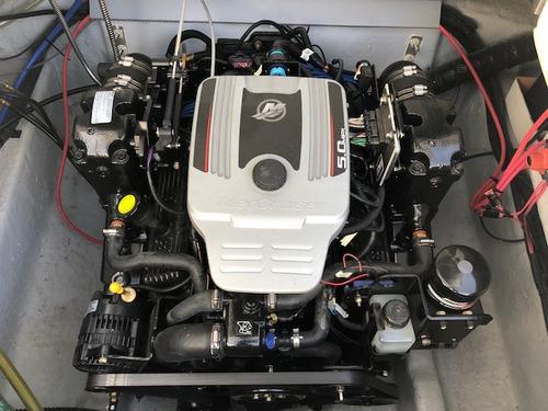lancha cuddy quicksilver 2400 mercruiser 260 hp b3 con 17 hs