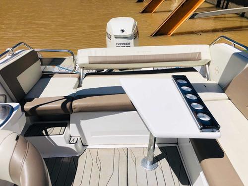 lancha cuddy quicksilver 2500 evinrude etec 300 hp web marin