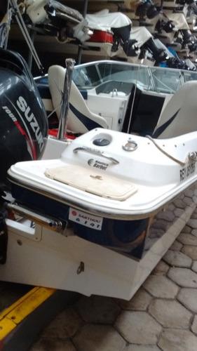 lancha cuddy usada femsa 620 motor suzuki 140 hp 4 tiempos