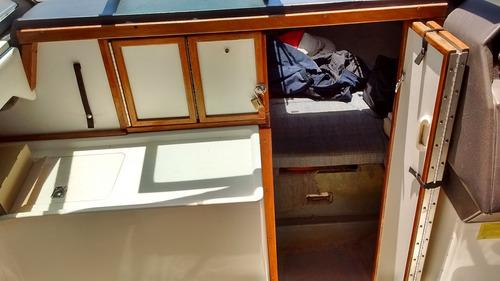 lancha cuddy usada sea ray 22 mcruiser v8 5.7