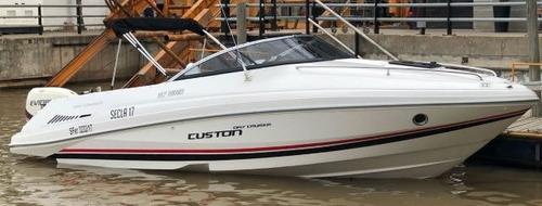 lancha custon day cruiser