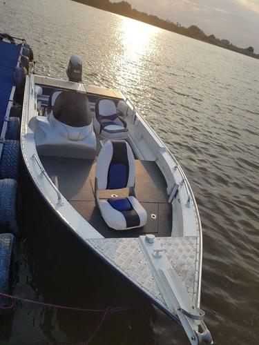 lancha de aluminio alumi cavel 190 fish. origen paraguay