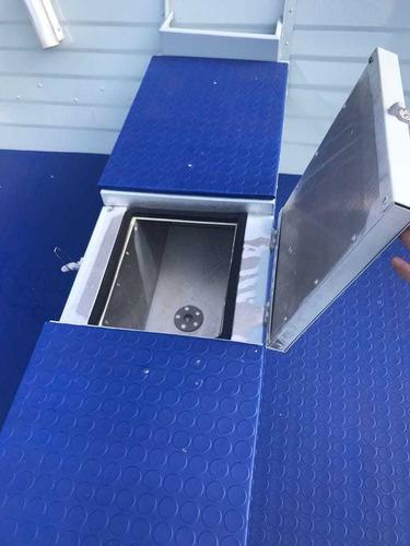 lancha de aluminio alumi cavel pira 500 sl full