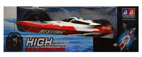 lancha de carrera a radio control racing boat 30 cm