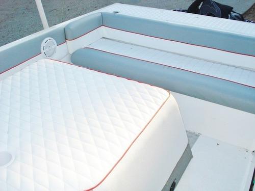 lancha de fibra master marine + motor 200 hp semi nova