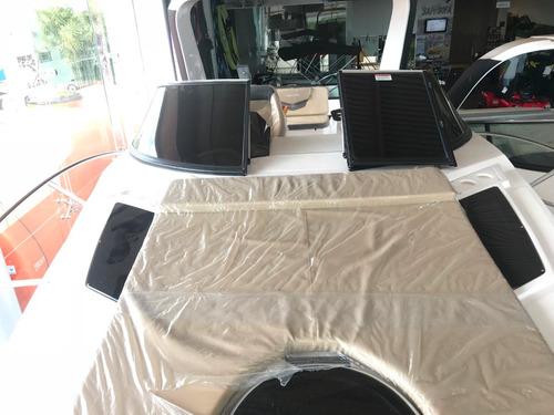 lancha de fibra ventura v300 comfort -  pronta entrega-
