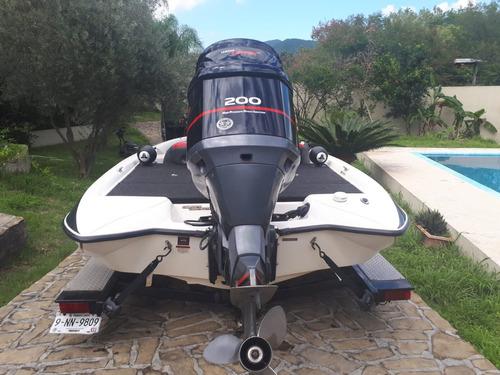 lancha de pesca stratos 2007 19.6 pies super equipada