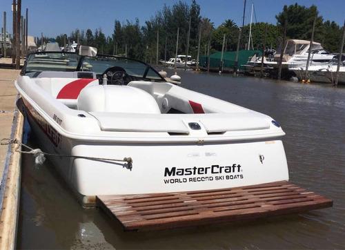 lancha de wakeboard mastercraft prostar 190 motor corvette