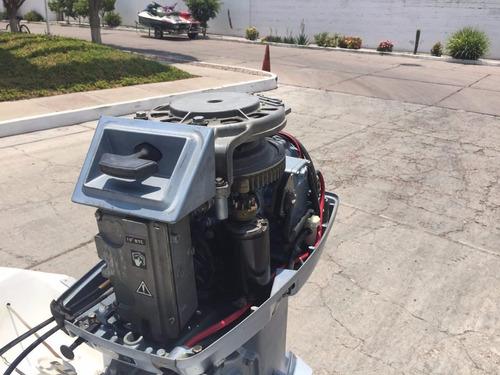 lancha deportiva 16.5 motor evinrude 55hp único dueño