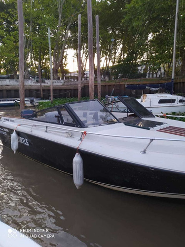 lancha deportiva bermuda marama 225 hp cuddy baño titular