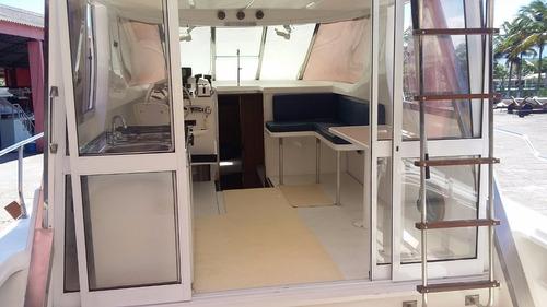 lancha dm 38 fly com 2 mwm vp 229 turbo barco muito lindo