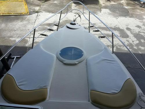 lancha dream 29 pés com motor 2013 linda