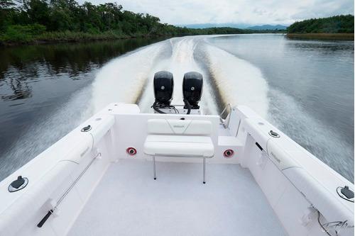 lancha dumar 275 wa + 225 hp optimax - direto da fabrica