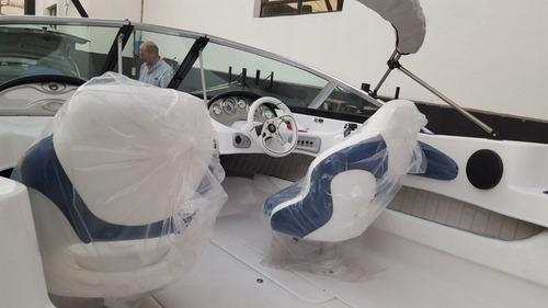 lancha eclipse 17 con evinrude 115 hp, excelentes descuentos