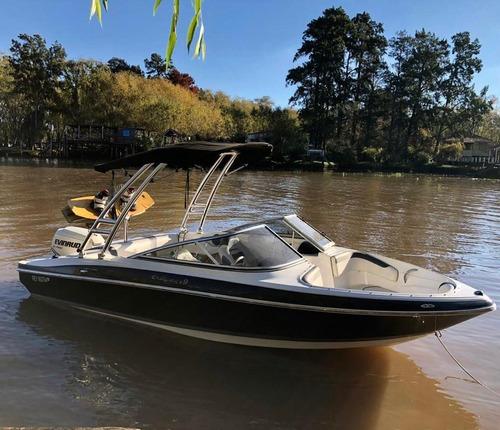 lancha eclipse 19 wakeboard super equipada
