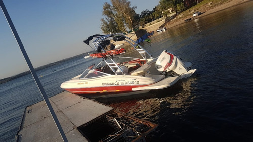 lancha eclipse 20 motor evinrude 135 ho ideal wakeboard