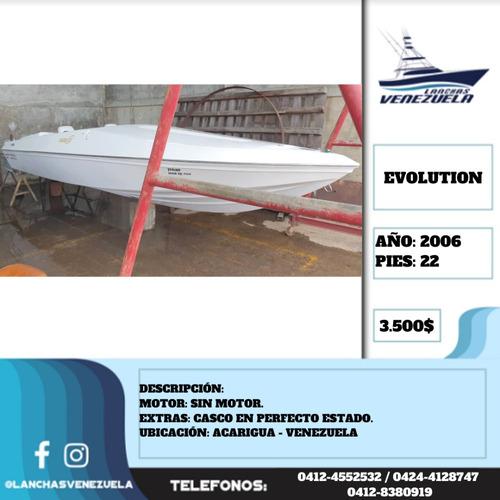 lancha evolution 22 lv496