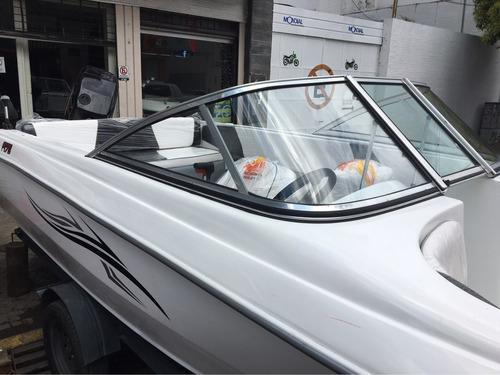 lancha f . marine 175 cascos nuevos 0 km precio sin motor!!!