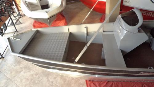 lancha feel 500 não metalglass, não levefort com motor 15 hp