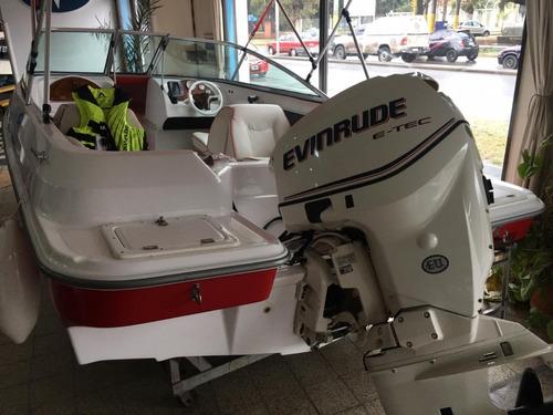 lancha femsa 520 con evinrude 115 hp etec